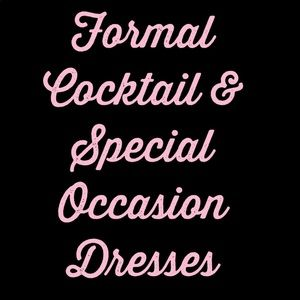 Dresses & Skirts - Cocktail Evening Formal & Special Occassion Dress